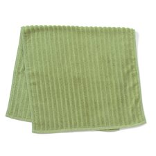 Bamboo Dreams Organic Cotton Ribbed Hand Towel