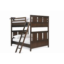 <strong>SmartStuff Furniture</strong> Free Style Full over Full Bunk Bed with Ladder