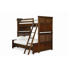 RoughHouse Twin over Full Bunk Bed with Ladder