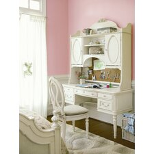 Gabriella Vanity Desk with Hutch