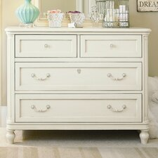 <strong>SmartStuff Furniture</strong> Gabriella Single 4-Drawer Dresser