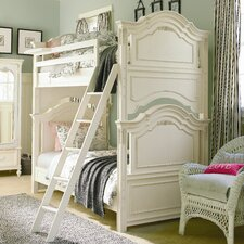 <strong>SmartStuff Furniture</strong> Gabriella Twin over Twin Bunk Bed with Ladder