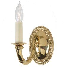 Neo Classical 1 Light Wall Sconce