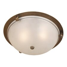 <strong>JVI Designs</strong> 3 Light Flush Mount