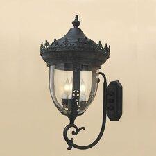 Gryphon 2 Light Outdoor Wall Lantern