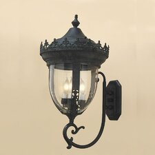 Medium 3 Light Outdoor Wall Lantern