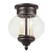 <strong>JVI Designs</strong> Classic Onions 2 Light Small Flush Mount