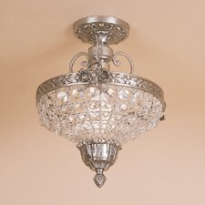<strong>JVI Designs</strong> 1 Light Small Semi-Flush Mount