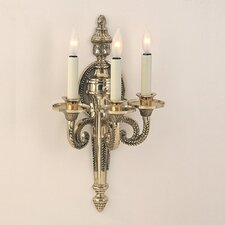3 Light Regal Wall Sconce