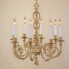 8 Light Majestic Chandelier