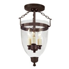 <strong>JVI Designs</strong> Danbury 3 Light Hanging Lantern