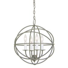 <strong>JVI Designs</strong> 4 Light Globe Chandelier