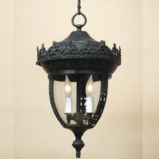 Medium 3 Light Outdoor Hanging Lantern