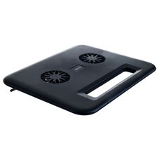 Compact Laptop Cooling Pad - USB Dual Fan