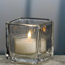 <strong>Biedermann and Sons</strong> Square Tea Light Candle Holder (Set of 4)