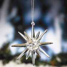 <strong>Biedermann and Sons</strong> Glass Starburst Ornament