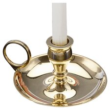 <strong>Biedermann and Sons</strong> Chamberstick Candle Holder (Set of 2)