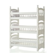 Doll Triple Detachable Bunk Bed