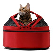 <strong>Sleepypod</strong> Mobile Pet Bed/Carrier in Strawberry Red