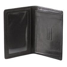 <strong>Mulholland Brothers</strong> Leather Business Card Wallet