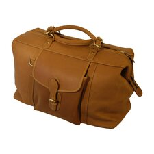"Weekend Bags 18.5"" Leather Shorthorn Travel Duffel"