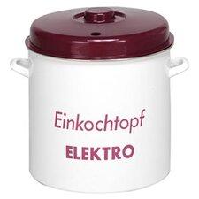 """36,5cm Einkocher """"Elektro"""" aus Email und Kunststoff"""