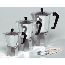 Espressokocher 8-eckig
