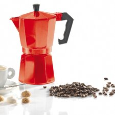 """Espressokocher """"Italiano Rosso"""" in Rot"""