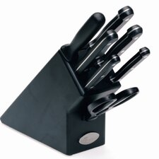 Chef's Essential 7 Piece Knife Set in Knife Block