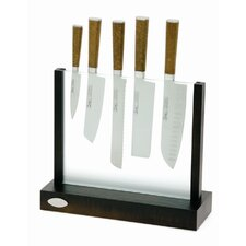 Cork 5 Piece Knife Set in Knife Block