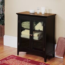 "<strong>Elegant Home Fashions</strong> Madison Avenue Dark 26"" x 32"" Free Standing Cabinet"