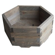 Hexagon Garden Barrel Planter