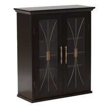 <strong>Elegant Home Fashions</strong> Delaney Wall Cabinet with 2 Doors
