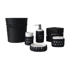 Sebrina 6 Piece Bathroom Accessory Set