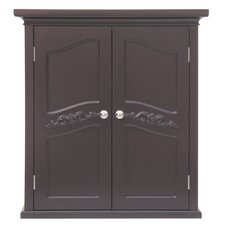 Versailles Wall Cabinet with 2 Doors