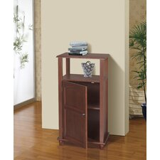 <strong>Elegant Home Fashions</strong> Martha Floor Cabinet 1 Door and Open Shelf
