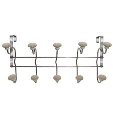 <strong>Elegant Home Fashions</strong> Poet Laureate Over The Door 5 Hook Rack