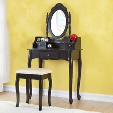 Amanda 3 Drawer Vanity Set