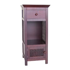 Cane 2 Drawer Floor Cabinet