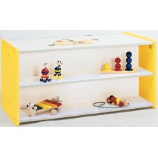 1000 Series Toddler Double-Sided Shelf Storage