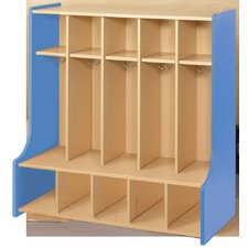 2000 Series 5-Section Cubbie Floor Locker