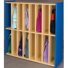 2000 Series 16 Cubbie Spacesaver Locker