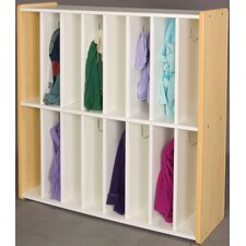 1000 Series 16 Cubbie Spacesaver Locker