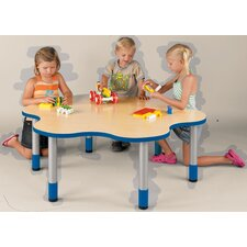 """My Place"" Activity Round Geometric Classroom Table"