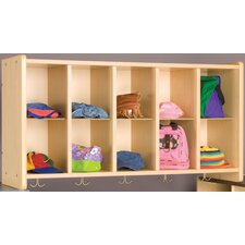 2000 Series 10-Cubbie Wall Storage