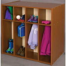 Vos System 8 Section Double Sided Toddler Locker
