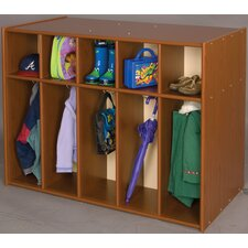 Vos System 10 Section Double Sided Toddler Locker