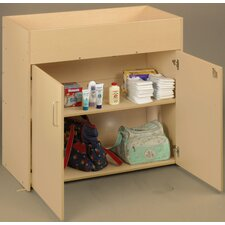 <strong>TotMate</strong> Eco Laminate Infant Changing Table with Doors