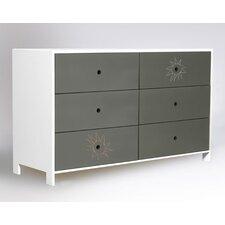 Parker 6 Drawer Dresser
