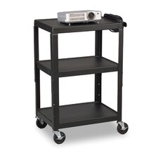 "42"" Welded AV Cart"